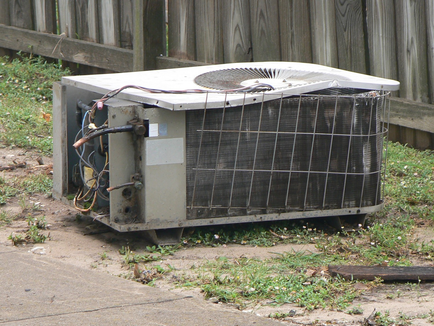 Our old air conditioner