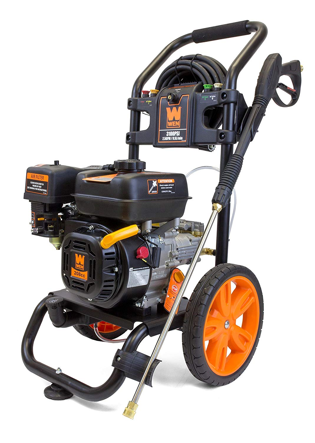 WEN PW3100 3100 PSI Gas Pressure Washer