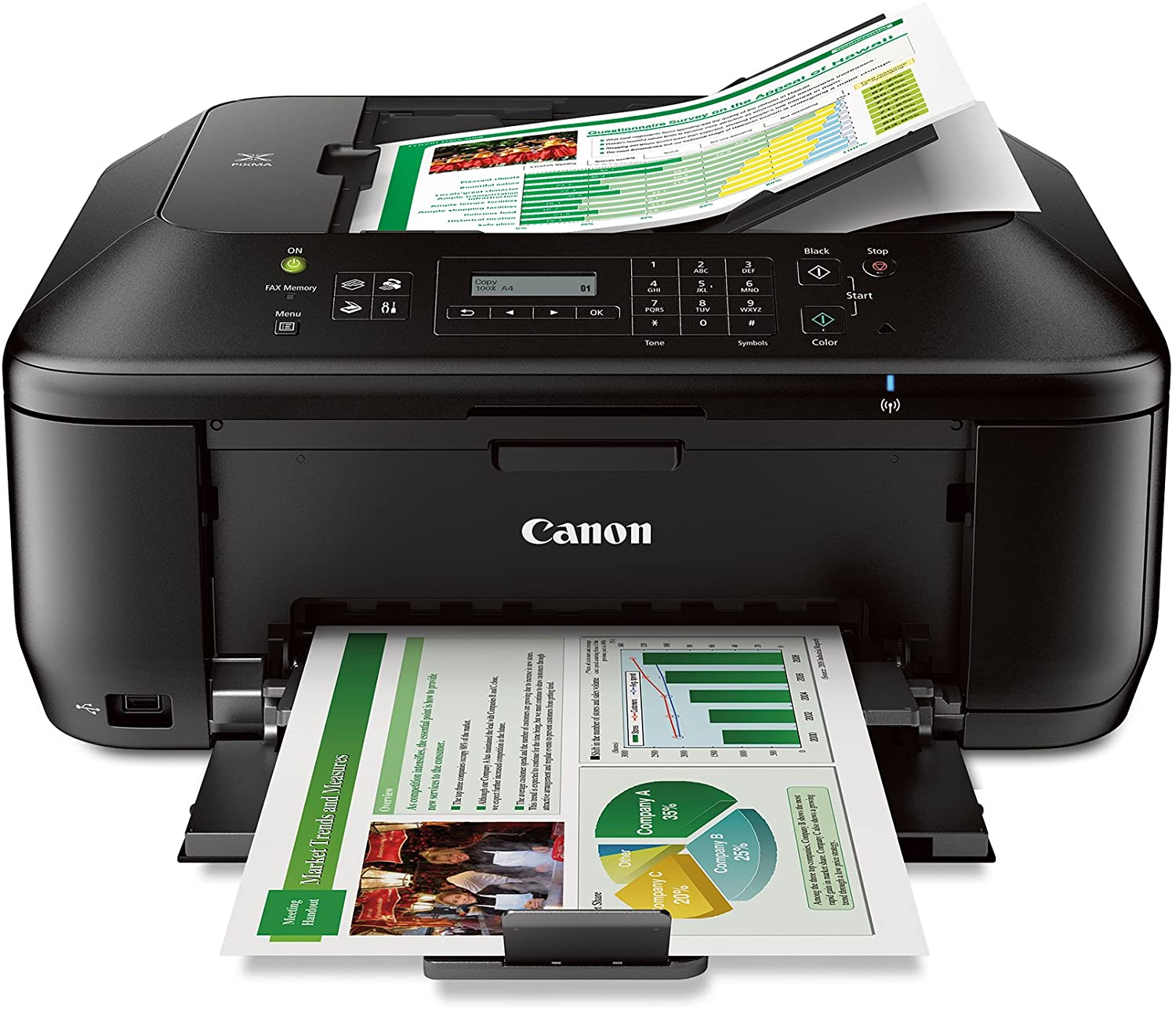 Canon Wireless Printer CNMMX532