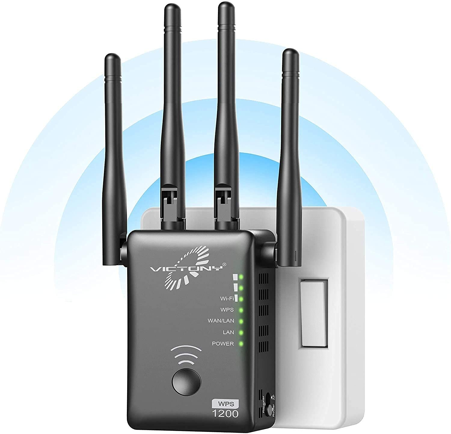 VICTONY Dual Band Wi-Fi Extender