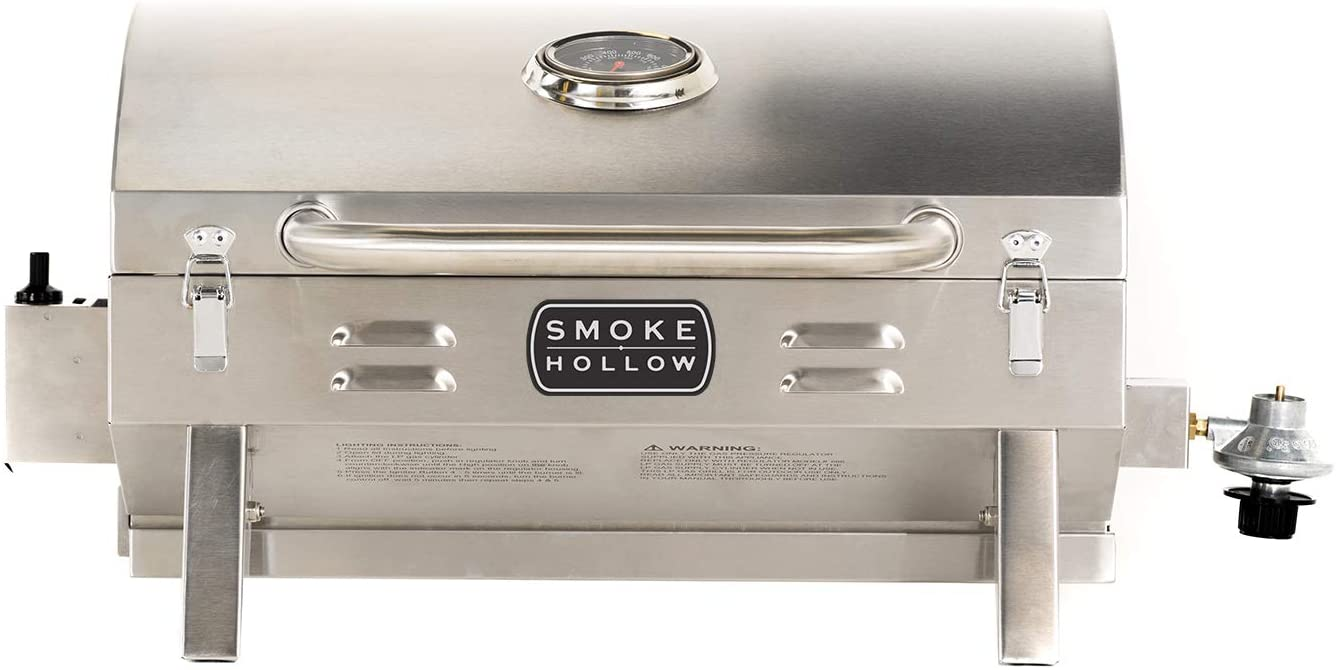 Masterbuilt SH19030819 Propane Tabletop Stainless Steel Gas Grill