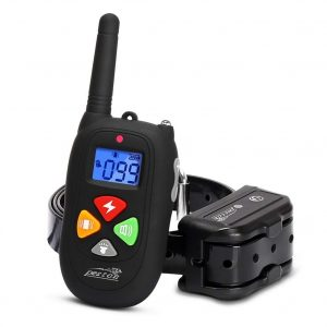 PESTON Remote Rechargeable & Waterproof Electric Shock Collar