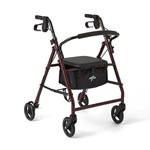 Medline Steel Foldable Walker