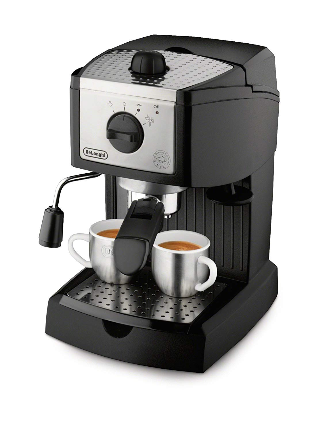 De'Longhi EC155 15-Bar Pump Cappuccino Maker & Espresso Machine