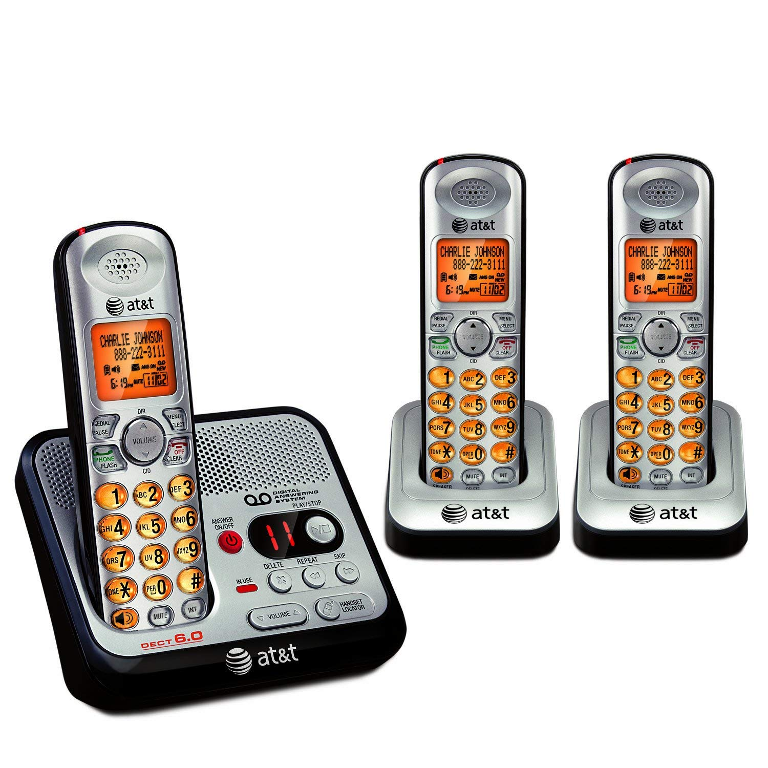 AT&T Cordless With Digital Answering System