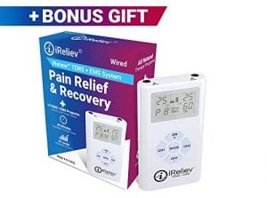 iReliev Tens Unit Muscle Stimulator