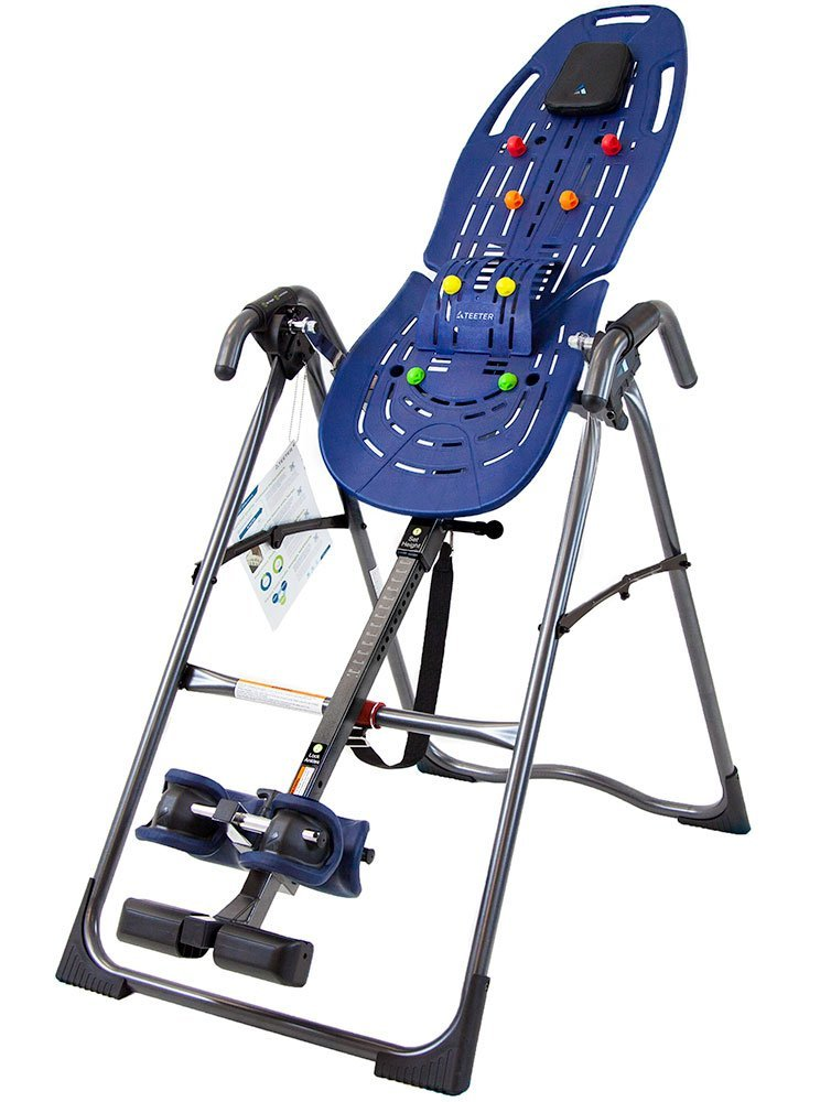 Teeter EP-560 Back Pain Relief Kit & FDA-Registered Inversion Table