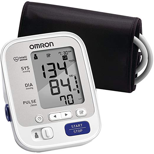 Omron 5 Series Soft Wide Range Cuff Blood Pressure Monitor
