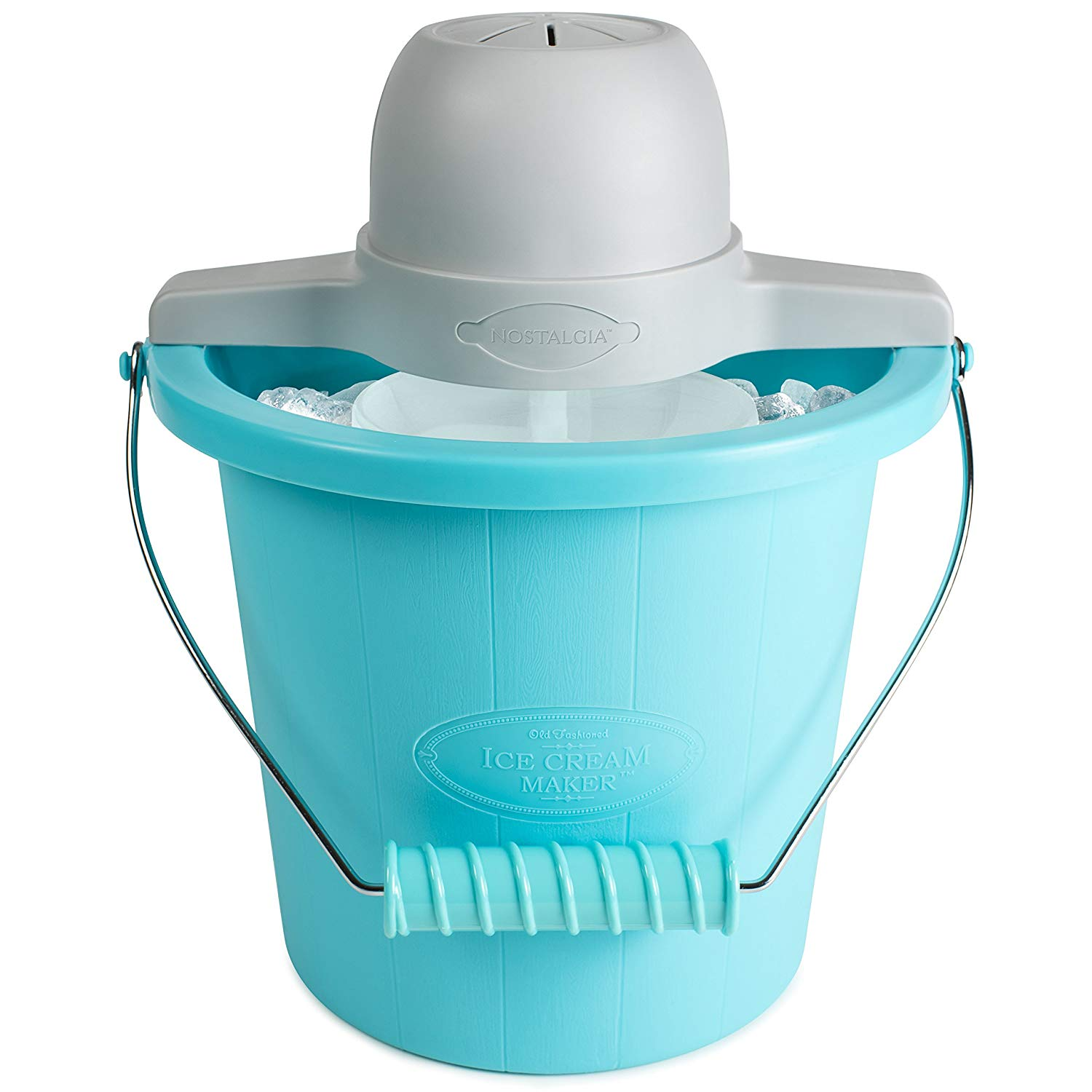 Nostalgia Electric Ice Cream Maker, 4-Quart