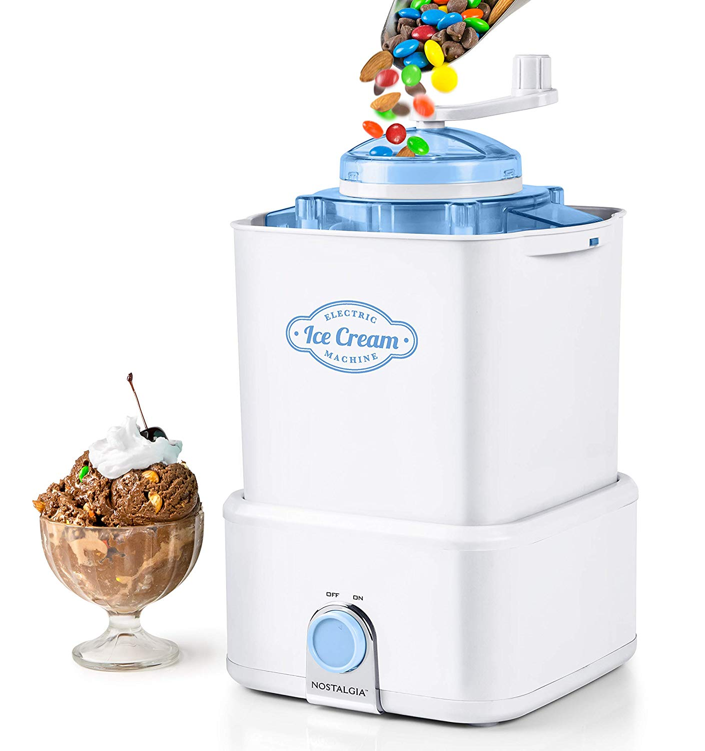 Nostalgia CICM2WB Ice Cream Maker