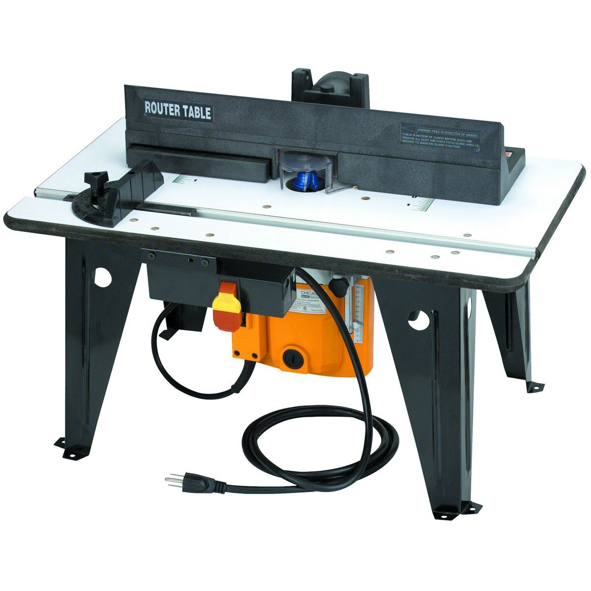 Chicago Electric Power Tools Benchtop Router Table