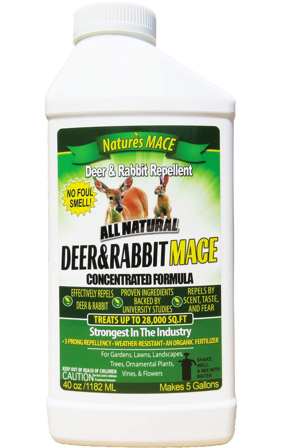 Nature's Mace Deer and Rabbit Repellent