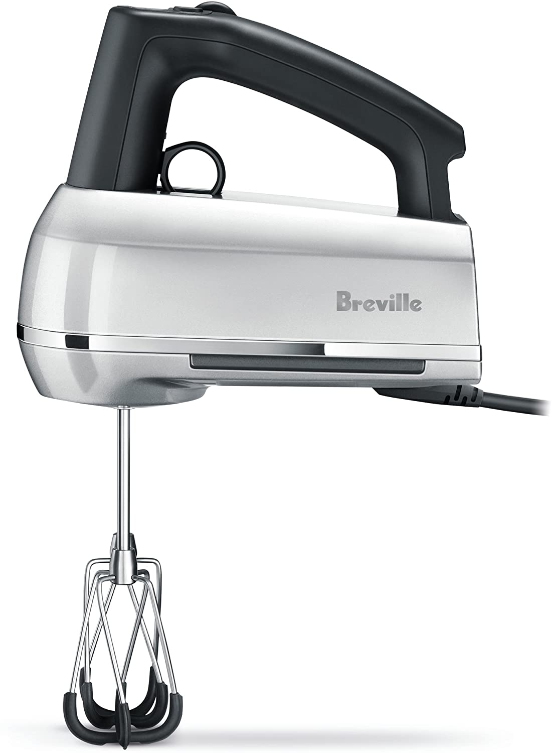 Breville BHM800SIL Handy Mix Scraper Hand Mixer, 9-Speed