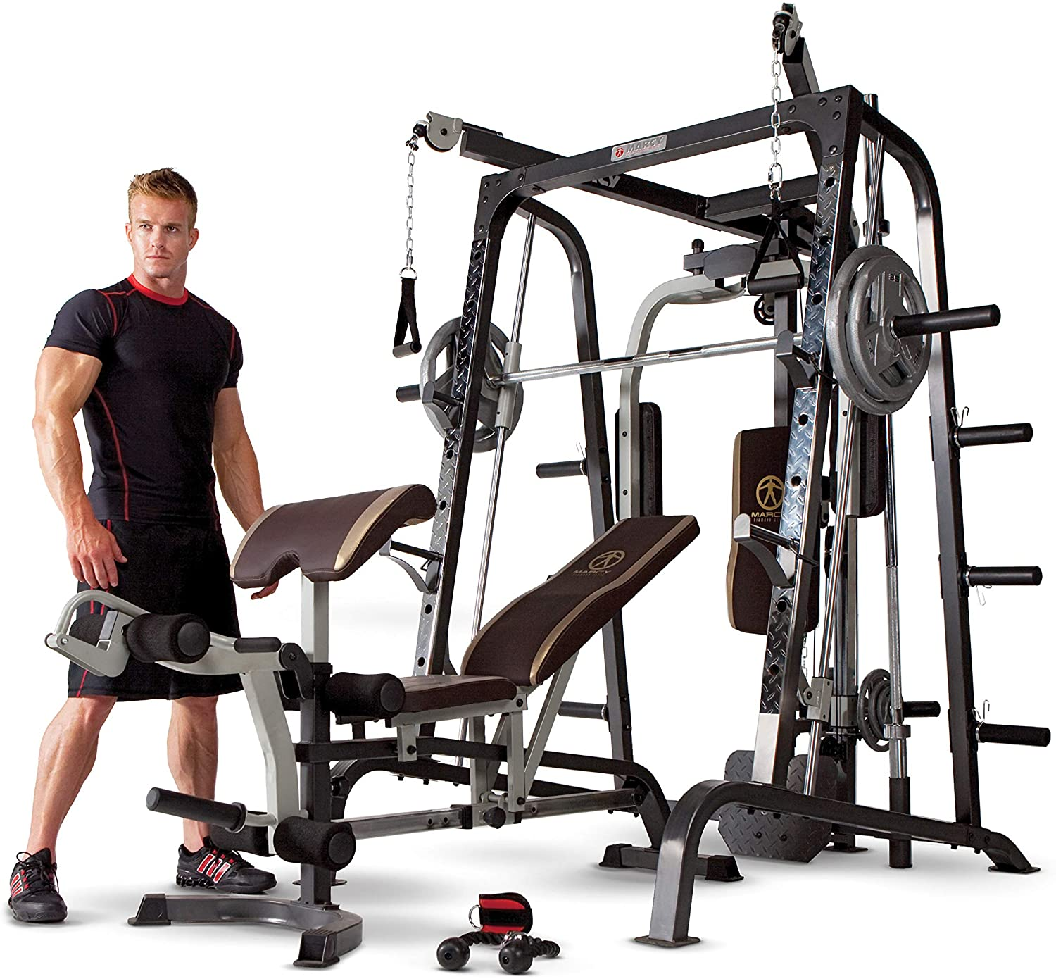 Marcy Smith Cage Workout Machine Home Gym
