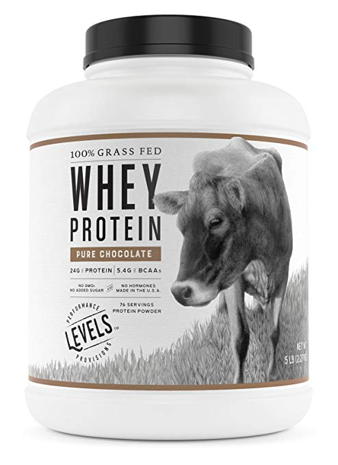 Levels Nutrition Grass Fed Whey Protein