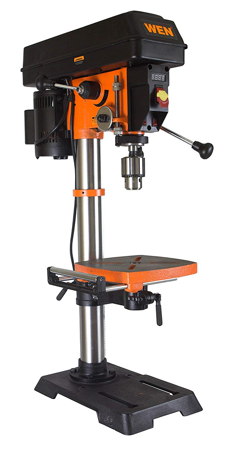 WEN 12-Inch Variable Speed Drill Press