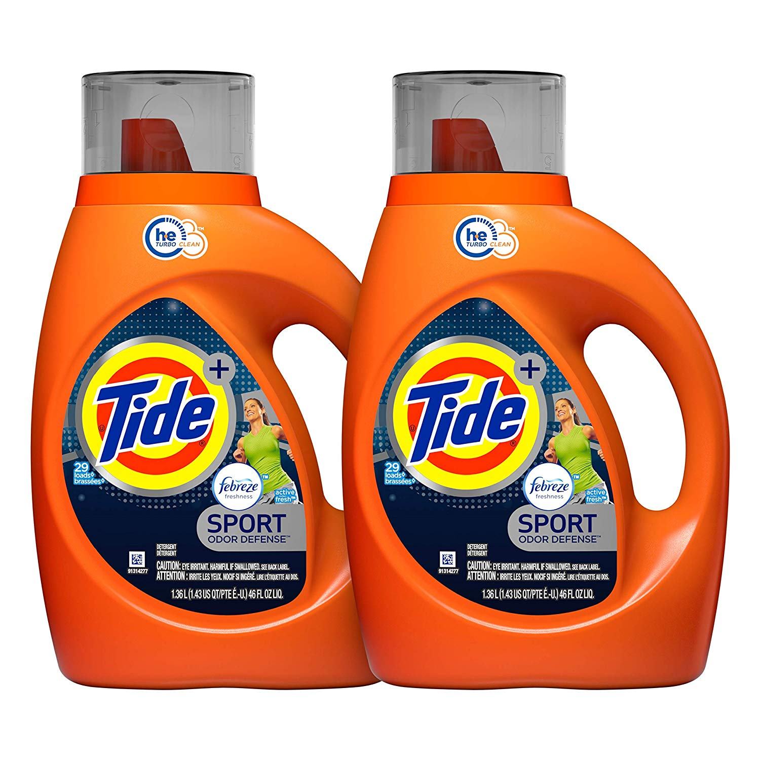 Tide Plus Febreze Laundry Detergent