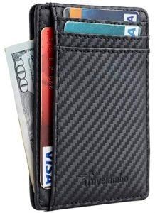 Travelambo RFID Blocking Slim Wallet