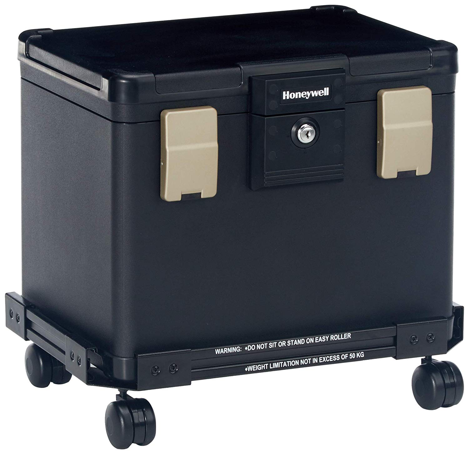 Honeywell Fire Water & Fire Proof Filing Chest With Cart
