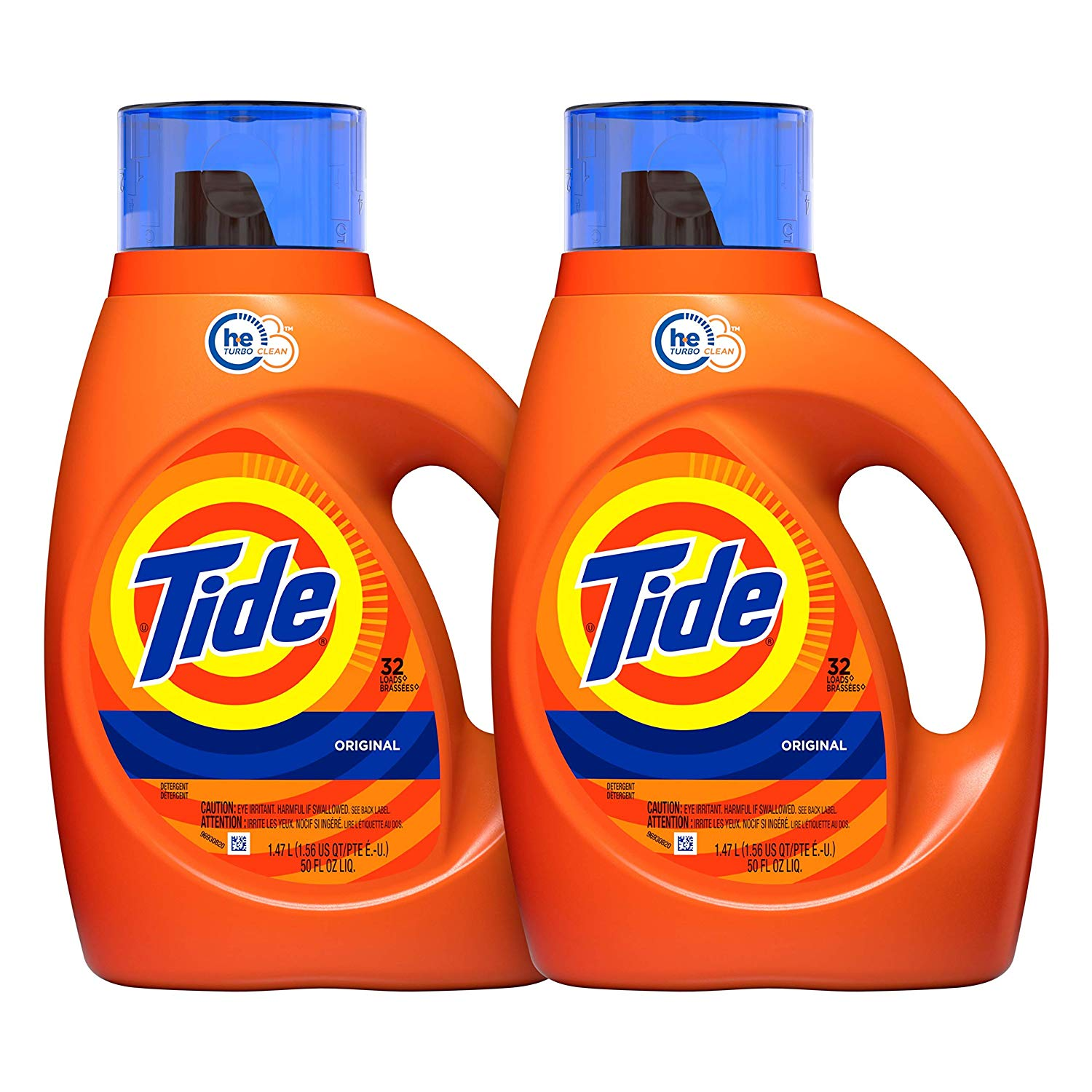 Tide Original Scent HE Turbo Laundry Detergent