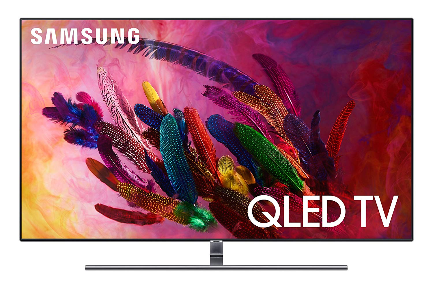 "Samsung QN65Q7FN Flat 65"" QLED 4K UHD 7 Series Smart TV 2018"