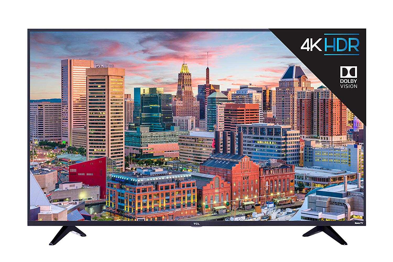 TCL 55″ 4K UHD Roku Smart LED TV (2018)