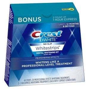 Crest 3D White Professional Effects Whitestrips, 44-Count