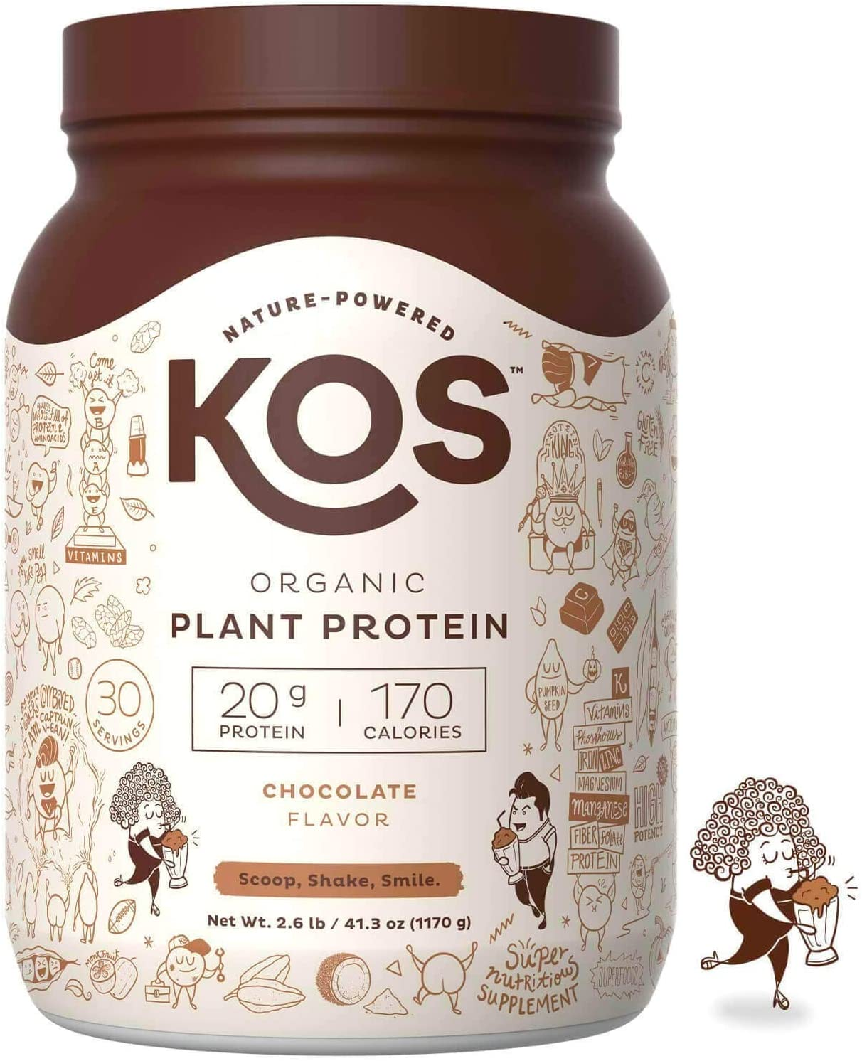 KOS Plant Based Powder Organic Protein