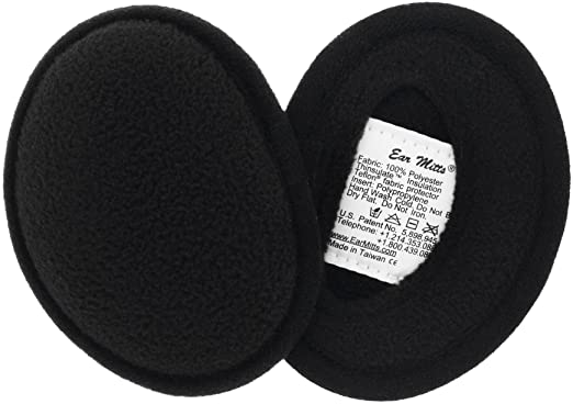 Ear Mitts Bandless Soft Fleece Ear Muffs