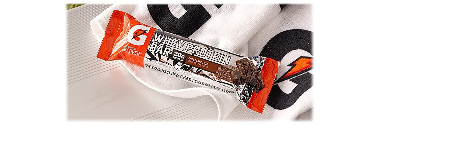 Gatorade 12-Count Chocolate Chip Whey Protein Recover Bars