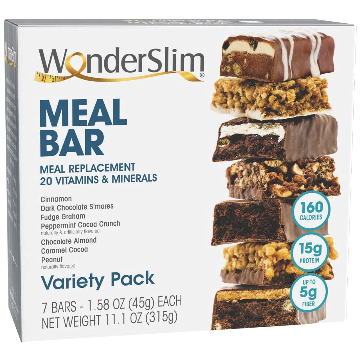 WonderSlim High Protein Meal Replacement Bar