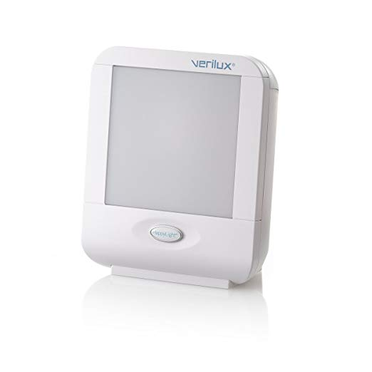 Verilux HappyLight Compact Portable Light Therapy Energy Lamp