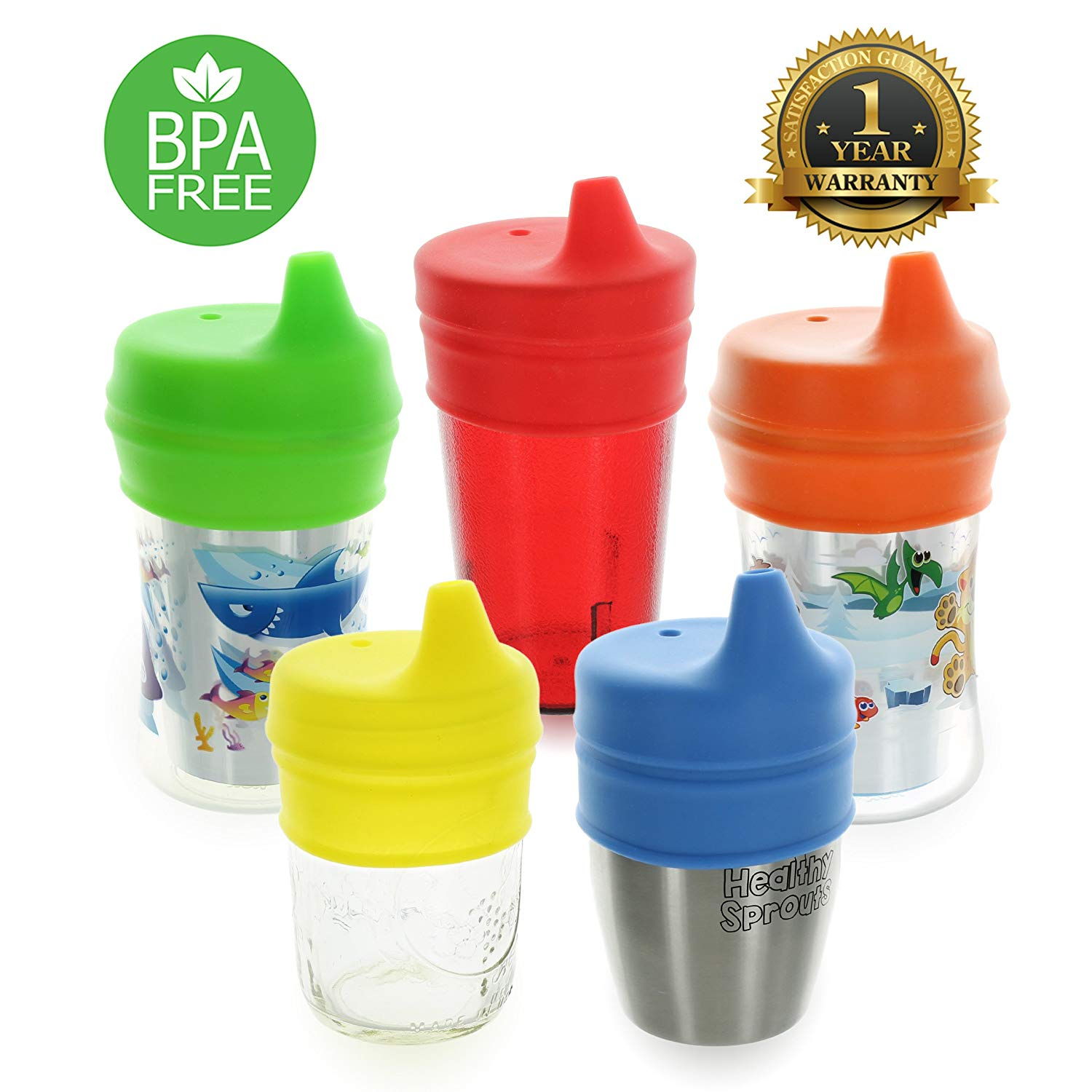 Healthy Sprouts Silicone Sippy Lids