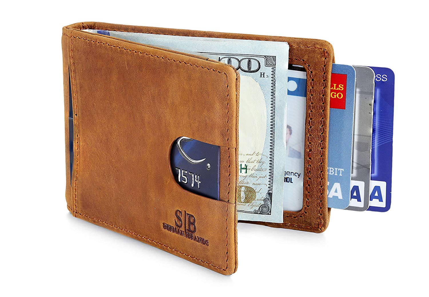 SERMAN BRANDS RFID Blocking Bifold Wallet
