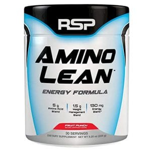 RSP Nutrition AminoLean Energy Workout Servings