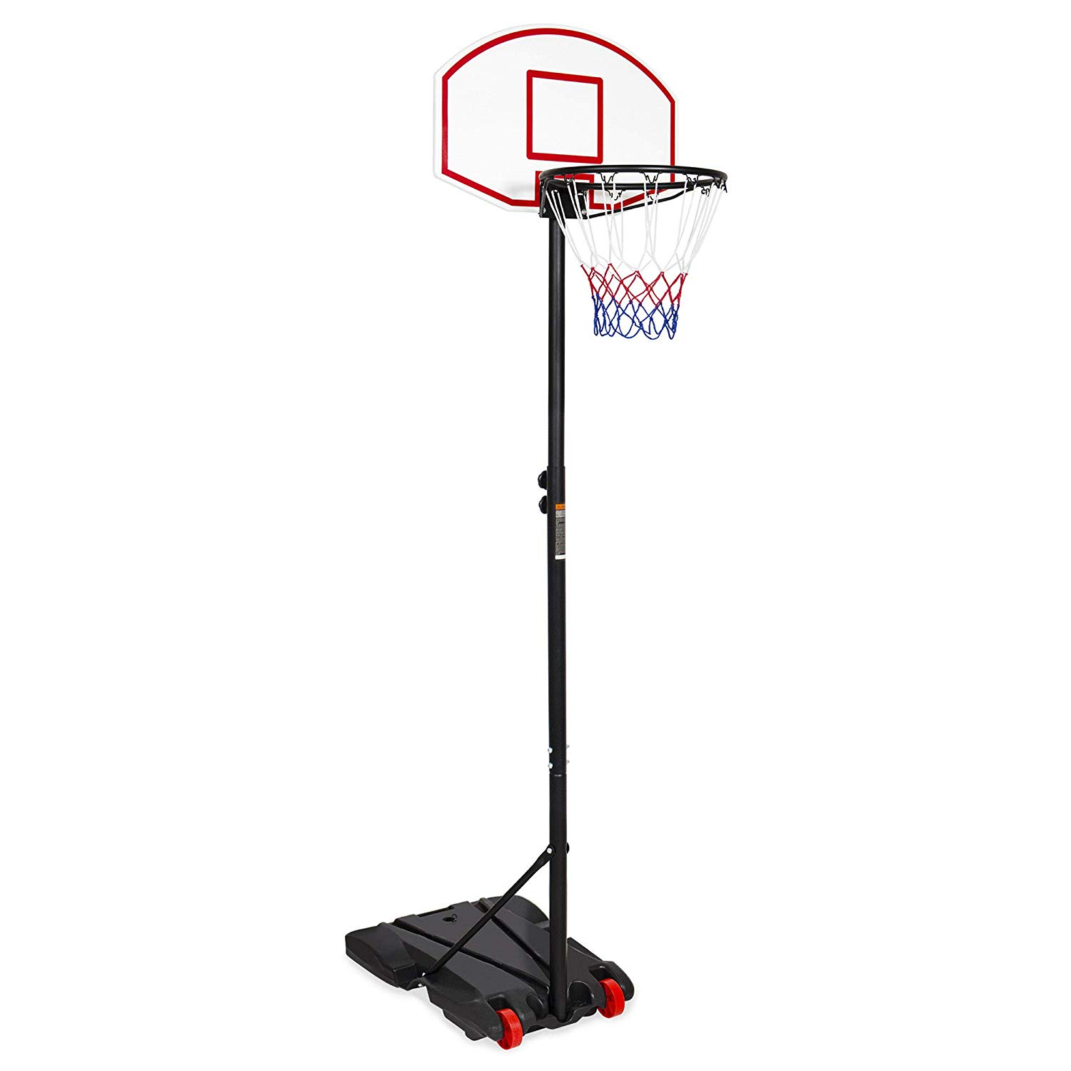 Best Choice Products Kids Portable Height-Adjustable Sports Basketball Hoop