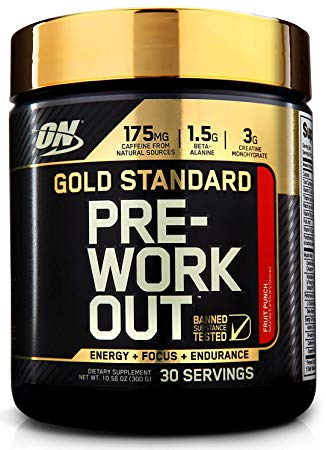 Optimum Nutrition STANDARD Pre Workout Creatine Beta Alanine