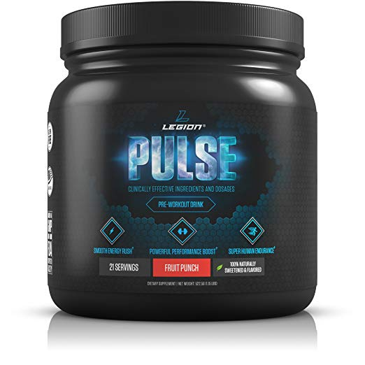 Legion Athletics Pulse Pre-Workout Supplement