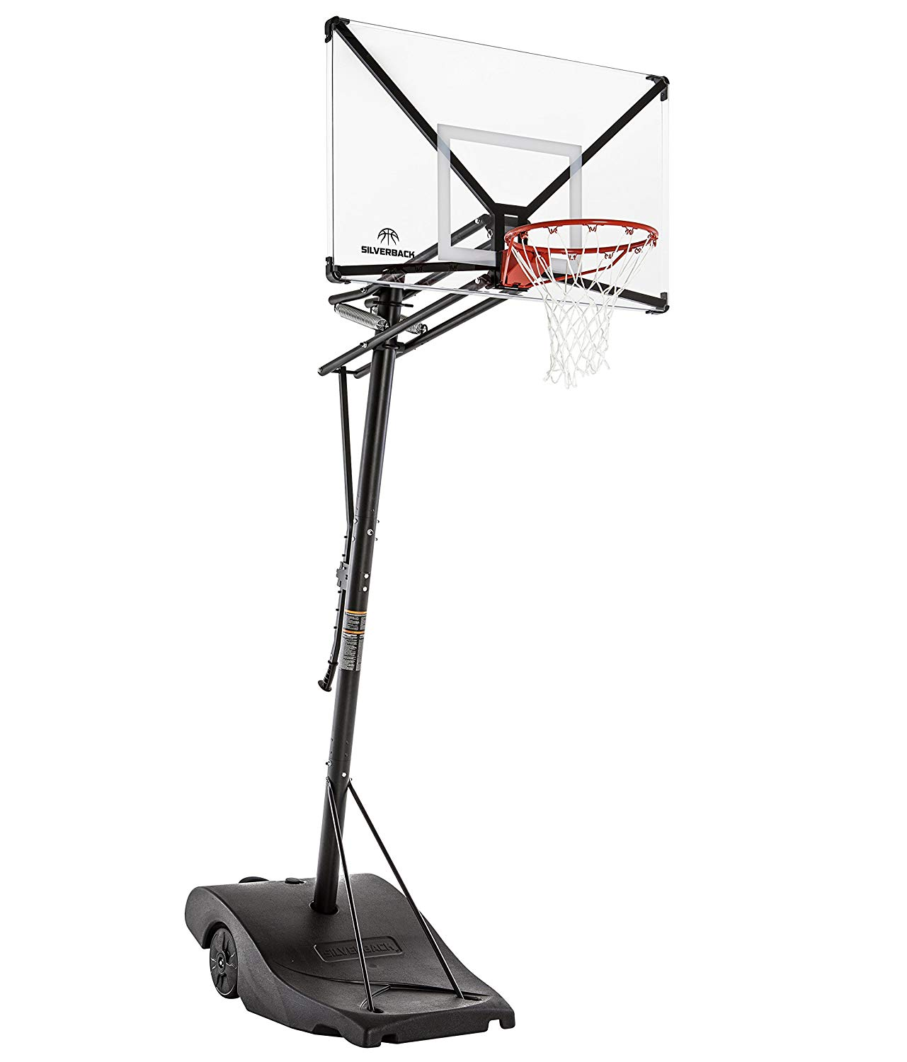 Silverback NXT Portable Height-Adjustable Basketball Hoop
