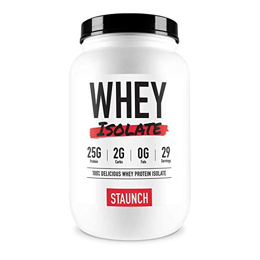 Staunch Whey Protein Isolate