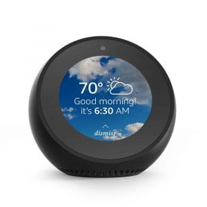 Amazon Echo Spot Smart Alarm Clock