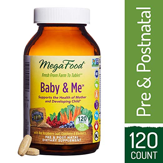 MegaFood Baby & Me, Pre- & Post-Natal Supplement