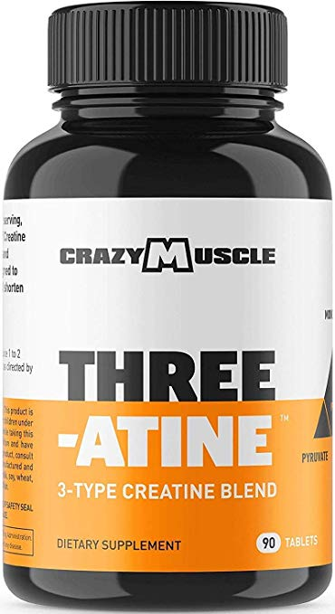Crazy Muscle Creatine Monohydrate Supplement