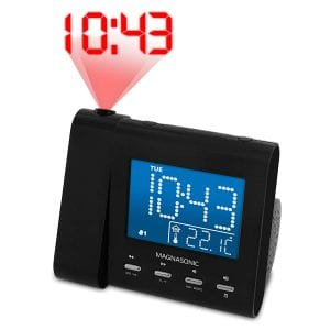 Magnasonic Projection AM/FM Alarm Clock