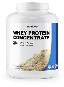 Nutricost Whey Protein Concentrate Unflavored