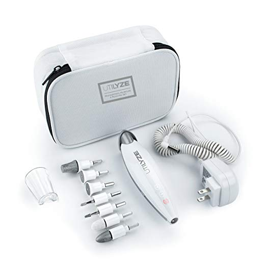 UTILYZE 10-in-1 Electric Manicure & Pedicure Set