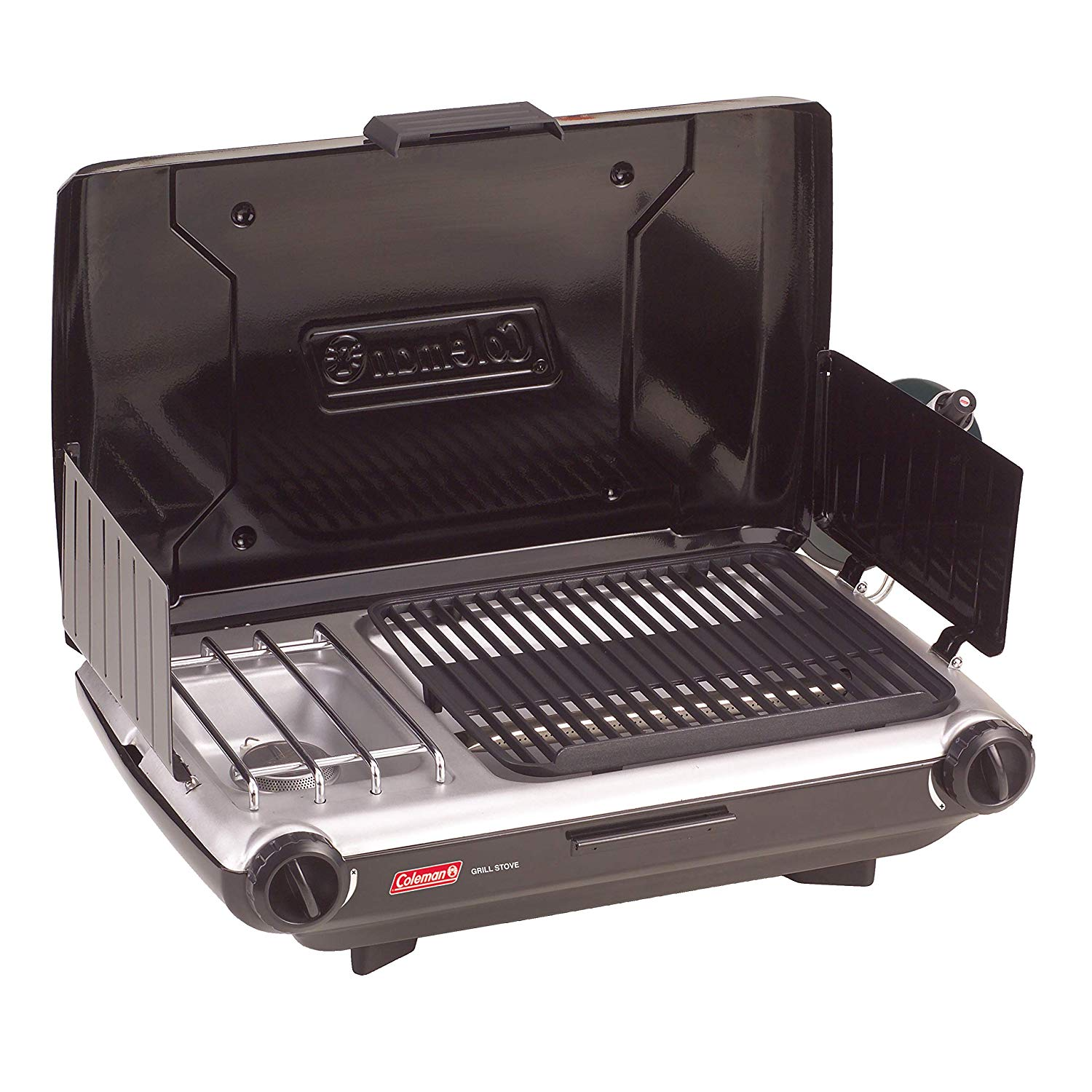 Coleman 2 Burner Grill Stove Combo