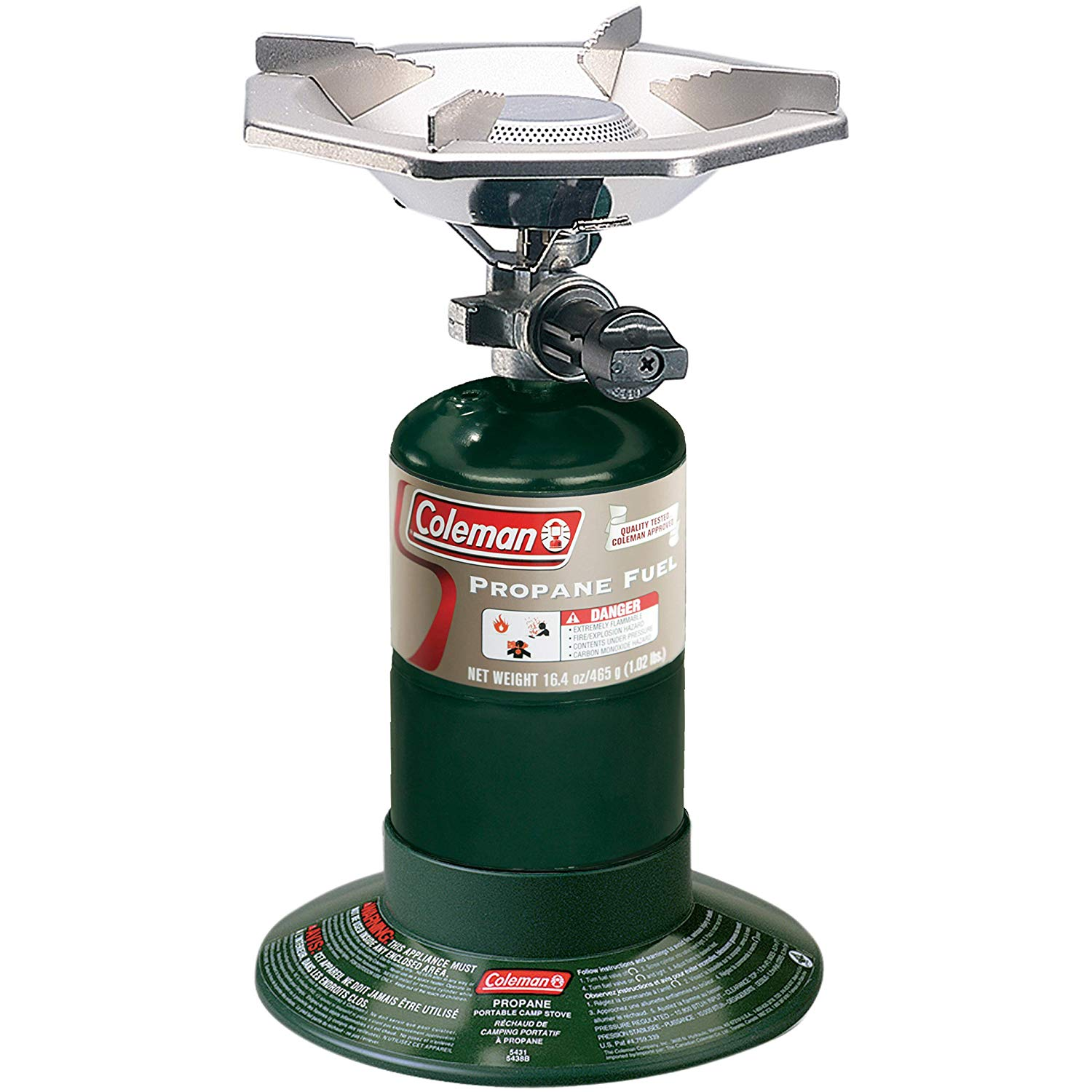 Coleman Gas Stove | Portable Bottletop Propane Camp Stove