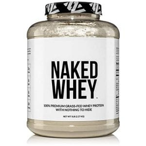 NAKED 100% Grass Fed Whey Protein Powder