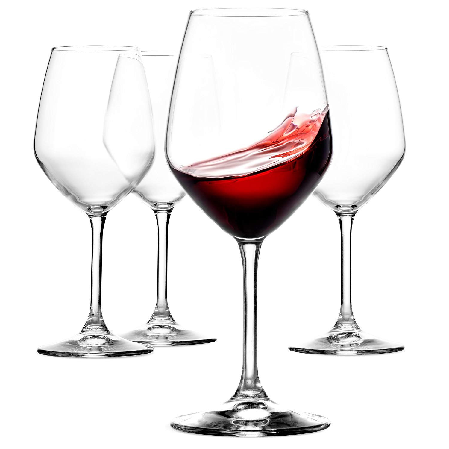 Paksh Novelty Italian Red Wine Glasses 18-oz